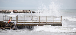 THEMENBILD - raues Meer, aufgenommen am 23.08.2015 in Caorle, Italien // rough sea in Caorle, Italia on 2015/08/23. EXPA Pictures © 2015, PhotoCredit: EXPA/ Jakob Gruber