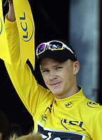 Sykkel , 11. juli 2013 , TOURS, FRANCE -FROOME Christopher (GBR)   of SKY PROCYCLING  during the twelfth stage of the 2013 Tour de France from Fougeres to Tours on July 11, 2013 in Tours, France <br /> Norway only