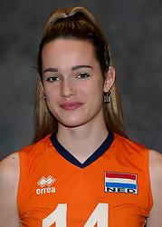 24-12-2019 NED: Photoshoot selection of Orange Youth Girls, Arnhem<br /> Orange Youth Girls 2019 - 2020 / Nicole van de Vosse #14