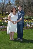 Melissa - Pregnancy Portrait session at Coastal Maine Botanical Garden