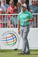 Sergio Garcia (ESP) watches his tee shot on 14 during 2nd round of the World Golf Championships - Bridgestone Invitational, at the Firestone Country Club, Akron, Ohio. 8/3/2018.<br /> Picture: Golffile | Ken Murray<br /> <br /> <br /> All photo usage must carry mandatory copyright credit (© Golffile | Ken Murray)