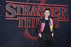 "Noah Schnapp attends the premiere of Netflix's ""Stranger Things"" Season 3 on June 28, 2019 in Santa Monica, CA, USA. Photo by Lionel Hahn/ABACAPRESS.COM"