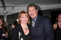 11/3/2010 Mariette Hartley and David Hasselhoff at the Hollywood Walk of Fame's 50th anniversary party.