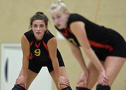 12-12-2015 NED: Prima Donna Kaas Huizen - VV Utrecht, Huizen<br /> In de Topdivisie verslaat PDK Huizen vv Utrecht met 3-1 / Kristy Beyazkaya #9