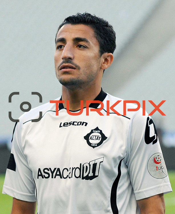 Altayspor's Mehmet BUDAK during their Play Off First leg match at Ataturk olympic Stadium in Istanbul Turkey on Monday, 17 May 2010. Photo by TURKPIX
