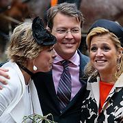 NLD/Middelburg/20100430 -  Koninginnedag 2010, Laurentien en partner Constantijn en Maxima