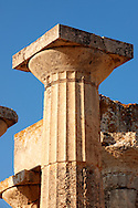 The Greek Doric Temple of Aphaia (500BC).  Aegina, Greek Saronic Islands .<br /> <br /> If you prefer to buy from our ALAMY PHOTO LIBRARY  Collection visit : https://www.alamy.com/portfolio/paul-williams-funkystock/aegina-greece.html <br /> <br /> Visit our ANCIENT GREEKS PHOTO COLLECTIONS for more photos to download or buy as wall art prints https://funkystock.photoshelter.com/gallery-collection/Ancient-Greeks-Art-Artefacts-Antiquities-Historic-Sites/C00004CnMmq_Xllw