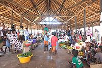 The Anjajavy market.