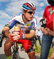Sykkel<br /> Sveits Rundt / Tour de Suisse<br /> 7. etappe<br /> 19.06.2015<br /> Foto: imago/Digitalsport<br /> NORWAY ONLY<br /> <br /> Sieger Alexander Kristoff (NOR) Team Katusha