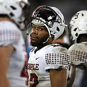 ORLANDO, FL - NOVEMBER 14:  Re-al Mitchell #13 of the Temple Owls looks on after being pulled in the third quarter against the Central Florida Knights at Bounce House-FBC Mortgage Field on November 14, 2020 in Orlando, Florida. (Photo by Alex Menendez/Getty Images) *** Local Caption *** Re-al Mitchell
