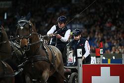 Exell, Boyd (AUS), <br /> Stuttgart - German Masters 2015<br /> Fahren Weltcup<br /> www.sportfotos-lafrentz.de