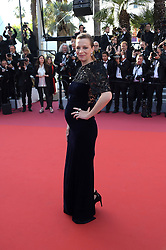 May 25, 2019 - Cannes, France - 72nd Cannes Film Festival 2019, Closing Ceremony Red Carpet. Pictured: Celine Sallette (Credit Image: © Alberto Terenghi/IPA via ZUMA Press)