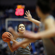 HARTFORD, CONNECTICUT- DECEMBER 19: Napheesa Collier #24 of the Connecticut Huskies in action during the UConn Huskies Vs Ohio State Buckeyes, NCAA Women's Basketball game on December 19th, 2016 at the XL Center, Hartford, Connecticut (Photo by Tim Clayton/Corbis via Getty Images)