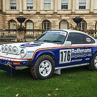 Porsche 911 Safari 3.0 SC Tribute at Rennsport Collective at Stowe House, Buckinghamshire, UK, on 1 November 2020