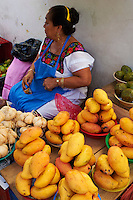 Mexique, Etat de Yucatan, Merida, capitale du Yucatan, le marche municipal // Mexico, Yucatan state, Merida, the capital of Yucatan, municipal market