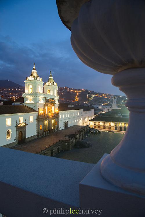 San Francisco Church (Iglesia de San Francisco), Quito, Ecuador, South America