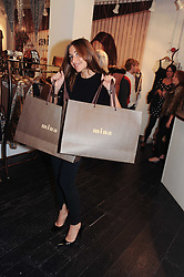MELANIE BLATT at a party to celebrate the opening of the new Mina Store at 36-38 Great Titchfield Street, London W1W 8BQ on 9th September 2010.  The party was sponsored by Ivan the Terrible Vodka.
