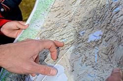 09-07-2014 ISL: Iceland Diabetes Challenge Dag 5, Emstrur<br /> Van Alftavatn naar Emstrur / De route, item