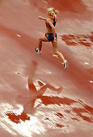 Friidrett<br /> Foto: Digitalsport<br /> Norway Only<br /> <br /> ATHLETICS - IAAF WORLD CHAMPIONSHIPS 2003 - PARIS 2003 (FRA) - STADE DE FRANCE - 29/08/2003 - PHOTO : PHILIPPE MILLEREAU<br /> HIGH JUMP WOMEN - ANNE GERD EIELAND (NOR)