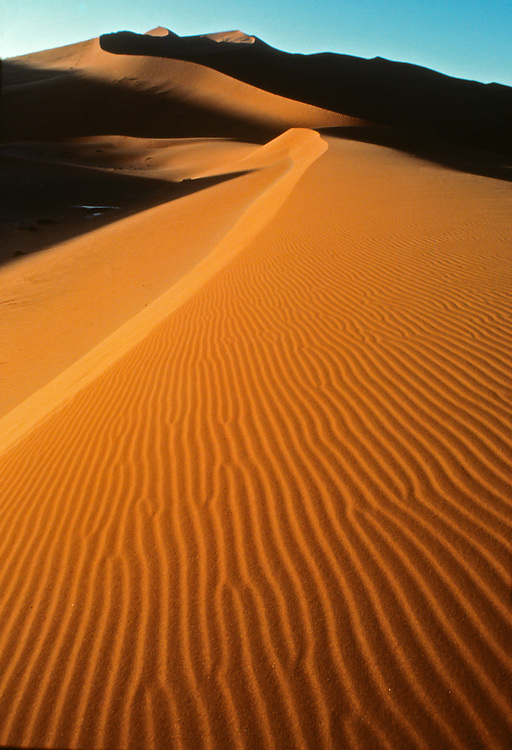 The picturesque view of dunes near the serengeti plain.