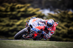 October 25, 2018 - Phillip Island, Australie - ANDREA DOVIZIOSO - ITALIAN - DUCATI TEAM - DUCATI (Credit Image: © Panoramic via ZUMA Press)