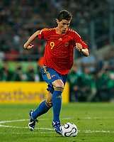 Photo: Glyn Thomas.<br />Spain v France. Round 2, FIFA World Cup 2006. 27/06/2006.<br /> Spain's Fernando Torres.