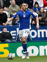 Photo: Steve Bond/Richard Lane Photography. Leicester City v Cardiff City. Coca Cola Championship. 13/03/2010. New Leicester signing James Vaughan