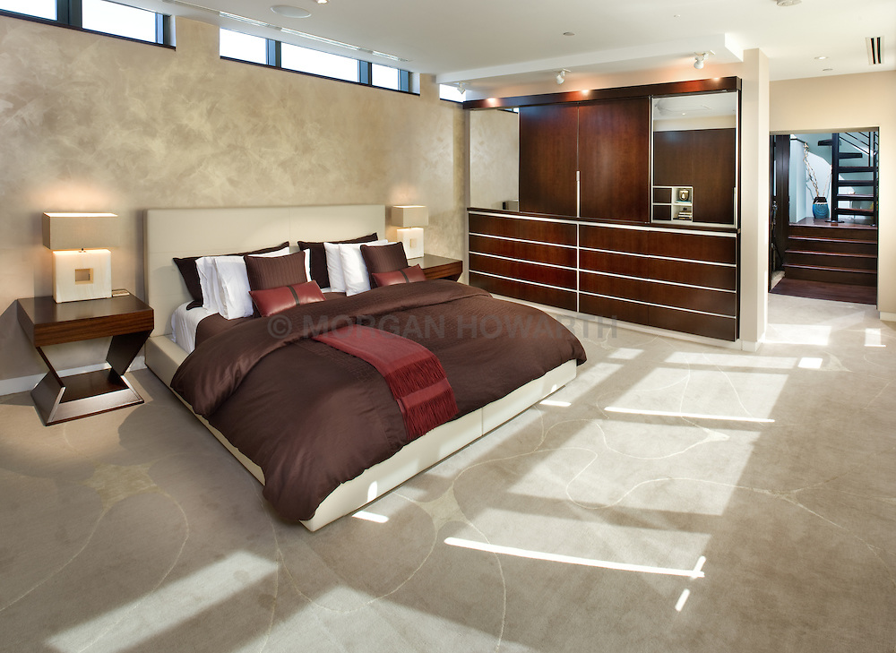 bedroom 2425 L Street designer Lorne Gross Master Bedroom