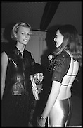 JACQUETTA WHEELER; KATIE LODEN, Tatler Bafta party hosted by Jane Procter and Charles Finch. Lola's. Upper St. London. April 1999.