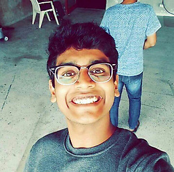 """April 4, 2017 - MUMBAI, INDIA - MUMBAI, INDIA : File photo of Arjun Bhardwaj, 24, a student, who committed suicide by jumping off his 19th floor room at the Taj Lands End Hotel in Mumbai, India. ....Before ending his life, he streamed a Facebook Live video, in which he is says it's a """"tutorial about how to (commit) suicide"""", and is seen consuming alcohol and smoking cigarettes. According to the police, Arjun left short suicide notes on the table in his hotel room.....Picture Supplied by: Cover Asia Press (Credit Image: © Cover Asia Press/Cover Asia via ZUMA Press)"""