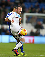 Ross McCormack of Aston Villa in action. EFL Skybet championship match, Cardiff city v Aston Villa at the Cardiff City Stadium in Cardiff, South Wales on Monday 2nd January 2017.<br /> pic by Andrew Orchard, Andrew Orchard sports photography.