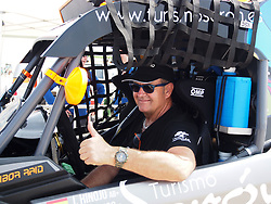 January 5, 2019 - Lima, Lima, Peru - Can Am 418, Jose Antonio Hinojo and Xavier Blanco from Spain, FN Speed team, passing the technical scrutineering. The Dakar rally runs this year 100% in Peru. (Credit Image: © Carlos Garcia Granthon/ZUMA Wire)