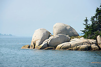 Rugged coastal island near Stonington, Maine . USA