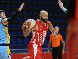 during basketball match between KK Crvena Zvezda (SRB) and KK Primorska (SLO) in 1st league of ABA League 2019/20, on October 6, 2019 in Belgrade, Serbia. Photo by Nebojsa Parausic / Sportida