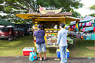Maui Swap Meet, a weekly farmers' market on the island of Maui, Kahului, HI