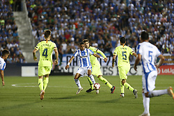 September 26, 2018 - Leganes, Madrid, Spain - Youssef En-Nesyri (CD Leganes) during the La Liga match between CD Leganes and FC Barcelona at Butarque Stadium in Leganes. (Credit Image: © Manu Reino/SOPA Images via ZUMA Wire)
