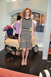 ELEANOR TOMLINSON at the Kate Spade NY hosted Chelsea Flower Show Tea Party held at Kate Spade, 2 Symons Street, London on 23rd May 2013.