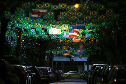 13.07.2014, Maracana, Rio de Janeiro, BRA, FIFA WM, Deutschland vs Argentinien, Finale, im Bild View of Rio de Janeiro's street yesterday, 11 th. july // during Final match between Germany and Argentina of the FIFA Worldcup Brazil 2014 at the Maracana in Rio de Janeiro, Brazil on 2014/07/13. EXPA Pictures © 2014, PhotoCredit: EXPA/ Eibner-Pressefoto/ Cezaro<br /> <br /> *****ATTENTION - OUT of GER*****