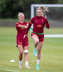 WALLASEY, ENGLAND - Wednesday, July 28, 2021: Liverpool's Melissa Lawley during a training session at The Campus as the team prepare for the start of the new 2021/22 season. (Pic by David Rawcliffe/Propaganda)