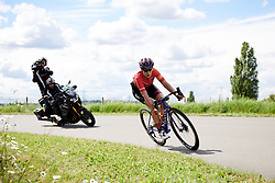 Elena Cecchini (ITA) at Stage 2 of 2019 OVO Women's Tour, a 62.5 km road race starting and finishing in the Kent Cyclopark in Gravesend, United Kingdom on June 11, 2019. Photo by Sean Robinson/velofocus.com