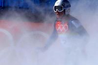 Photo: Catrine Gapper.<br /> Winter Olympics, Turin 2006. Alpine Skiing Downhill. 12/02/2006.