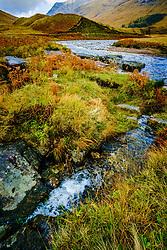 The river Etive in speight as it flows through Glen Etive, Highlands of Scotland<br /> <br /> (c) Andrew Wilson | Edinburgh Elite media