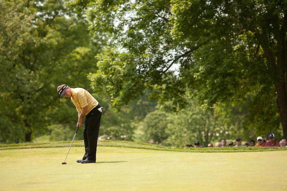 Michael Allen. 2009 Senior PGA Championship, Round 4. Photographed at Canterbury Golf Club in Beachwood, Ohio on Sunday, May 24 2009. Photograph © 2009 Darren Carroll