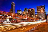 Downtown Seattle, Pine Street & Interstate 5