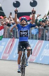 26.05.2017, Piancavallo, ITA, Giro d Italia 2017, 19. Etappe, Innichen (San Candido) nach Piancavallo, im Bild der Sieger der Etappe Mikel Landa (ESP, Team Sky) // stage winner Mikel Landa (ESP, Team Sky) during the 19 th stage of the 100 th Giro d Italia cycling race from Innichen (San Candido) to Piancavallo, Italy on 2017/05/26. EXPA Pictures © 2017, PhotoCredit: EXPA / Martin Huber