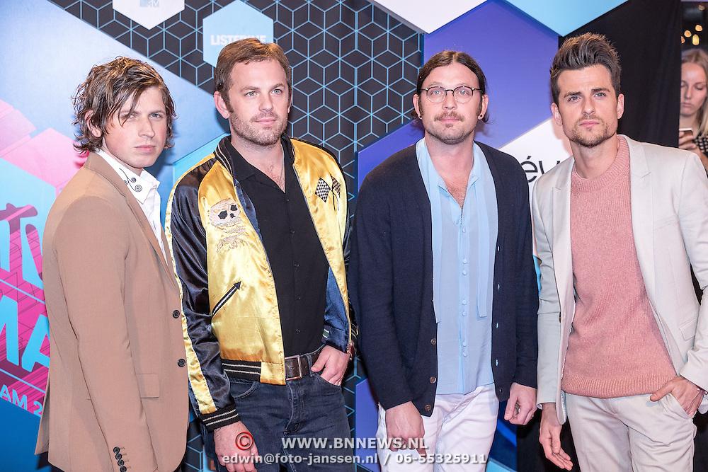 NLD/Rotterdam/20161106 - MTV EMA's 2016, Kings of Leon