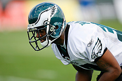 Philadelphia Eagles Cornerback Trae Williams #37 during the Philadelphia Eagles NFL training camp in Bethlehem, Pennsylvania at Lehigh University on Saturday August 1st 2009. (Photo by Brian Garfinkel)