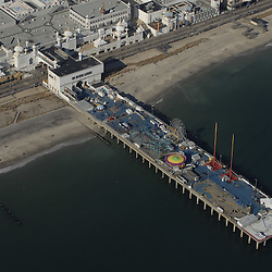 Aerial view of Atlantic City Pier