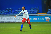 Angelo Balanta (10) of Dagenham & Redbridge during the The FA Cup match between Mansfield Town and Dagenham and Redbridge at the One Call Stadium, Mansfield, England on 29 November 2020.