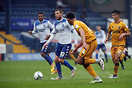 Danny Mayor of Bury runs at the Port vale defence. EFL Skybet football league one match, Bury v Port Vale at Gigg Lane in Bury ,Lancs on Saturday 3rd September 2016.<br /> pic by Chris Stading, Andrew Orchard sports photography.